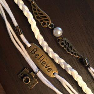 """Jewelry - """"Believe"""" bracelet"""